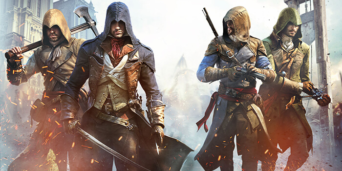 Assassin's Creed Unity Free Games