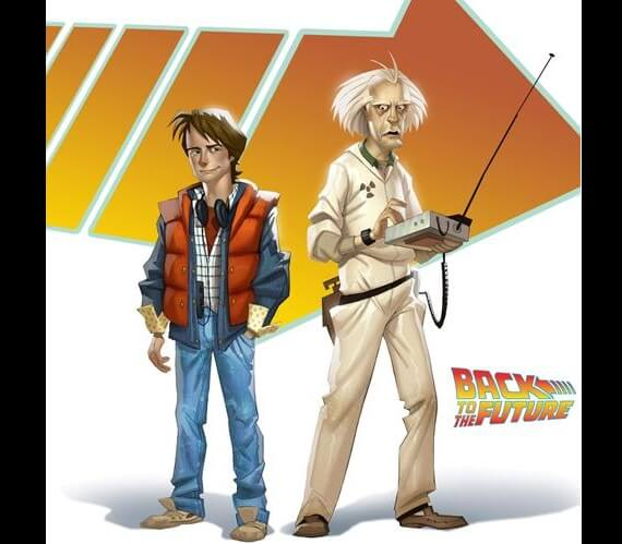 Back to the Future TellTale Games Marty McFly and Doc Brown Eric Stoltz Back to the Future Footage & Michael J. Fox is Marty McFly Again!