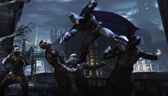 Batman Arkham City Combat Screens