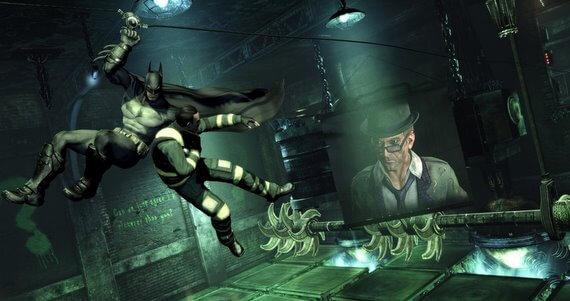 Batman Arkham City Riddler Challenge Room