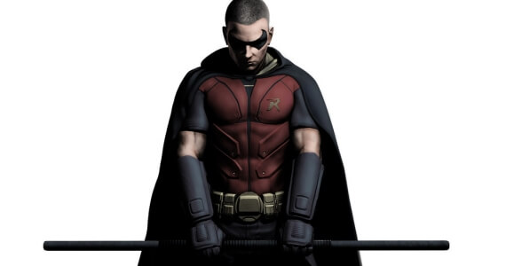 Robin's Gear in Batman: Arkham City