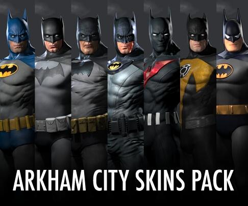 Batman Arkham City Skins