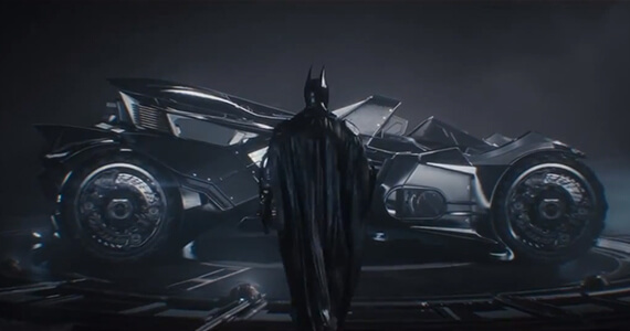 Batman Arkham Knight Batmobile Gameplay