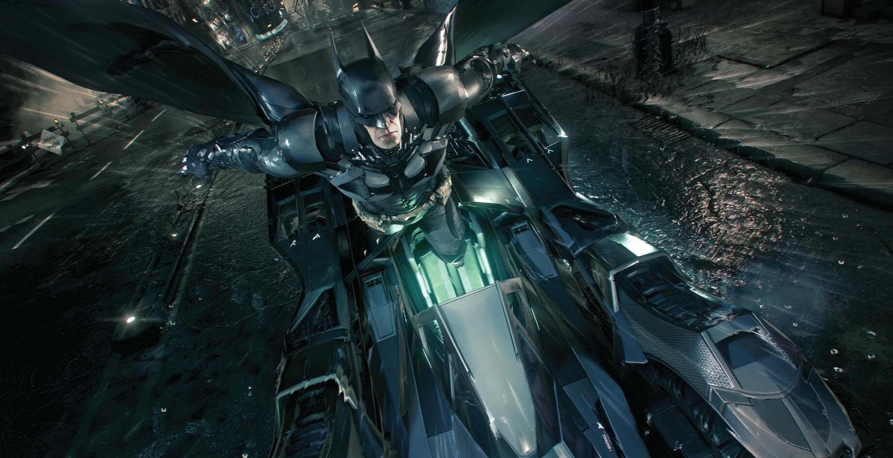 Batman: Arkham Knight (Infiltrating Ace Chemicals)