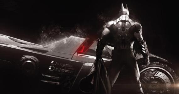 Batman Arkham Knight Game Batmobile