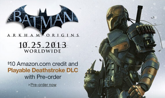 'Batman: Arkham Origins' Playable Deathstroke DLC Revealed