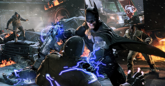 Batman Arkham Origins Gamescom Header
