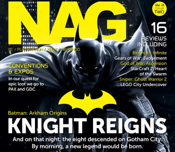 Batman Arkham Origins NAG Magazine