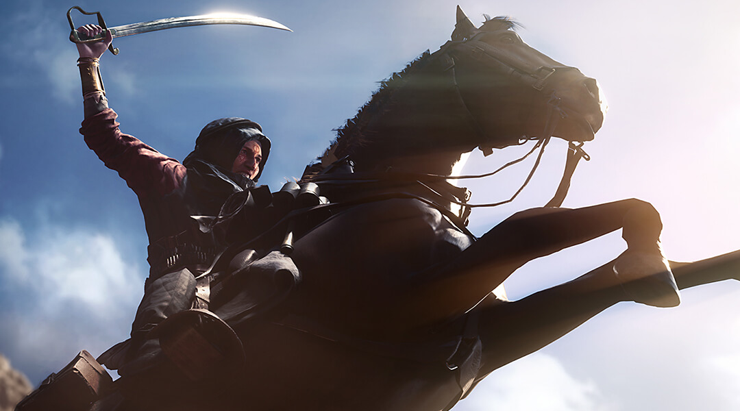 Battlefield 1 Teases Lawrence of Arabia Story Mission