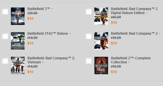 Battlefield 10th anniversary deals