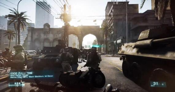 Battlefield 3 SDCC Multiplayer Trailer