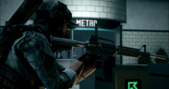 Battlefield 3 Operation Metro Map