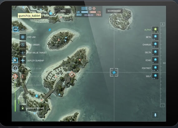 Battlefield 4 Commander Mode App
