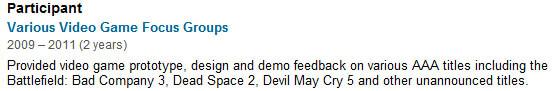 Battlefield Bad Company 3 Resume