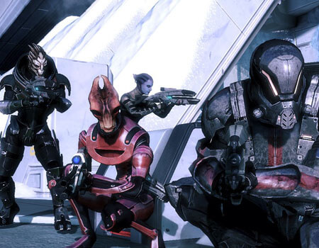 Best Coop Game Mass Effect 3