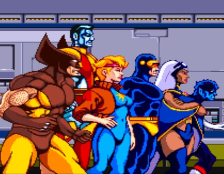 Best Superhero Games Xmen Arcade