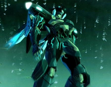 Best Video Game Mechs Jehuty Zone of the Enders