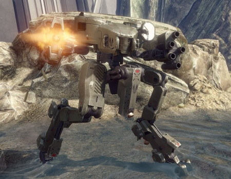 Best Video Game Mechs Mantis Halo 4
