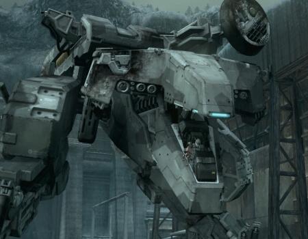 Best Video Game Mechs Metal Gear Solid REX