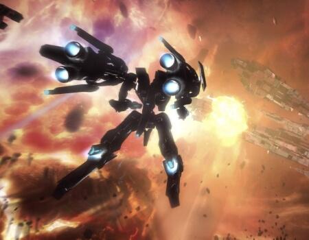 Best Video Game Mechs Strike Suit Zero