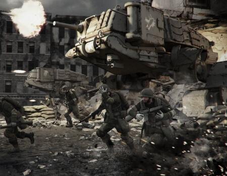 Best Video Game Mechs Vertical Tanks Steel Battalion