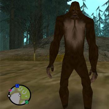 Bigfoot in Grand Theft Auto San Andreas