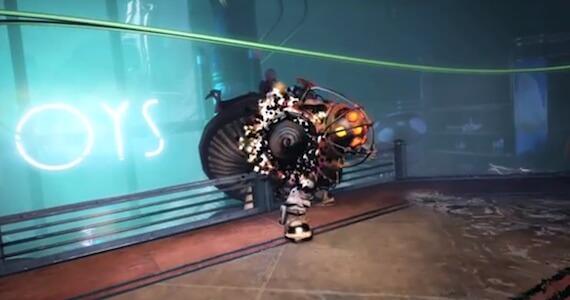 BioShock Infinite Big Daddy Burial at Sea