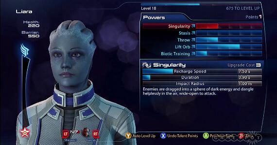 BioWare Explains 'Mass Effect 3' Power Stat Upgrades