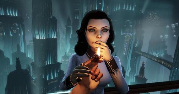 Bioshock Infinite Burial at Sea Elizabeth Cigarette