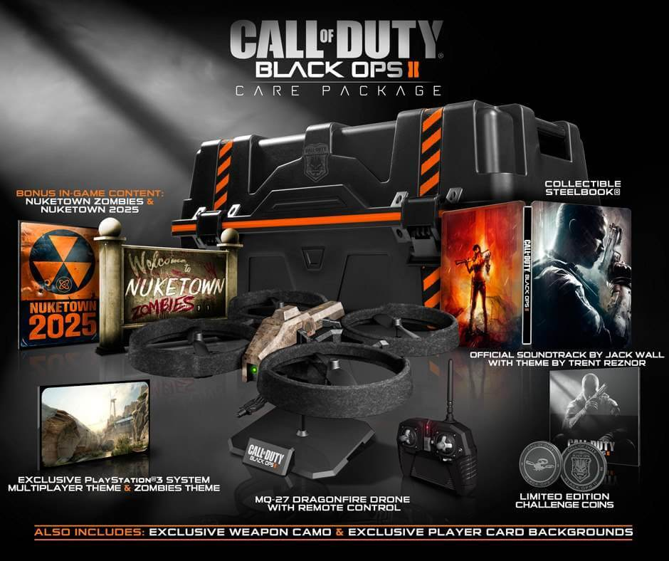 Official 'Black Ops 2' Care Package & Hardened Edition Details [Updated]