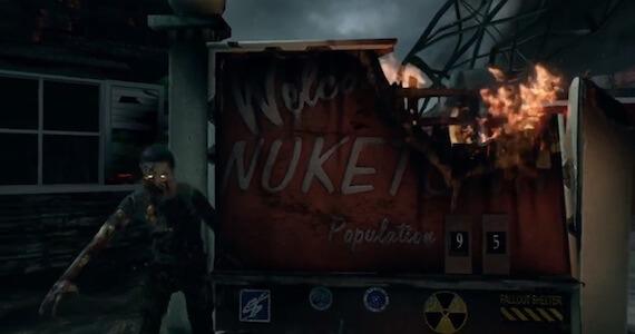 Black Ops 2 Nuketown Zombies Trailer
