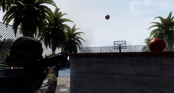 Black Ops 2 Raid Basketball