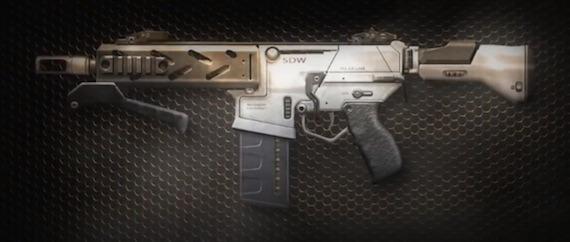 Black Ops 2 Revolution - Peacekeeper SMG