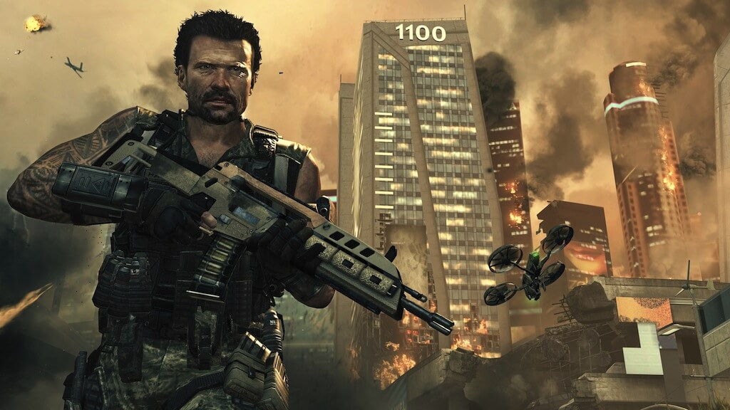 'Black Ops 2' Screenshots Tease the Future, Zombies Poster Released