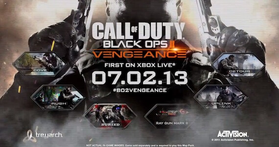 'Call of Duty: Black Ops 2 – Vengeance' DLC Map Pack Trailer and Details