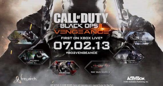 Black Ops 2 Vengeance DLC Trailer