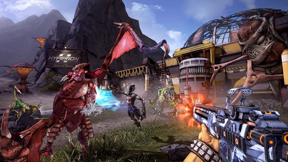 'Borderlands 2' 'Wimoweh' Trailer Sets an Action-Packed Tune