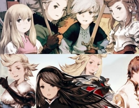 Bravely Default Spiritual Successor Final Fantasy