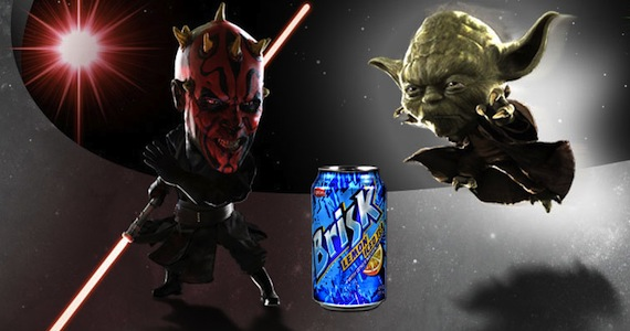 New Brisk Bottle Unlocks 'Kinect Star Wars' Game Content