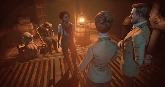 Burial at Sea Screens - Lutece and Daisy