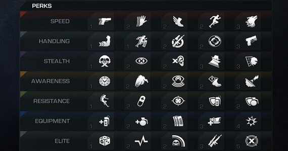 COD Ghosts Perks