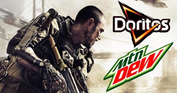 Call of Duty Advanced Warfare Doritos Mountain Dew