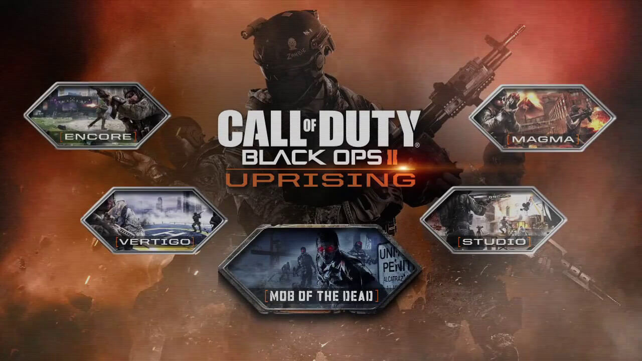 Activision Officially Unveils 'Black Ops 2: Uprising' DLC With Star-Studded Trailer