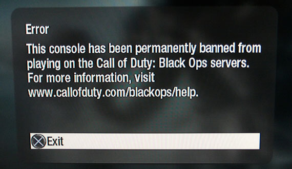 PS3 Firmware 3.56 Bans Black Ops Hackers