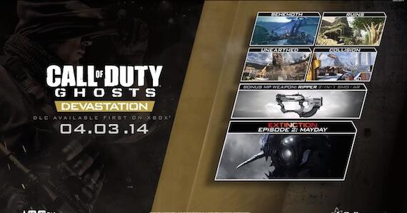 'Call of Duty: Ghosts – Devastation' DLC Trailer, Details, & Release Date