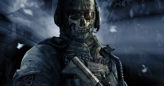 Call of Duty Ghosts Preorder Ghost Multiplayer Skin