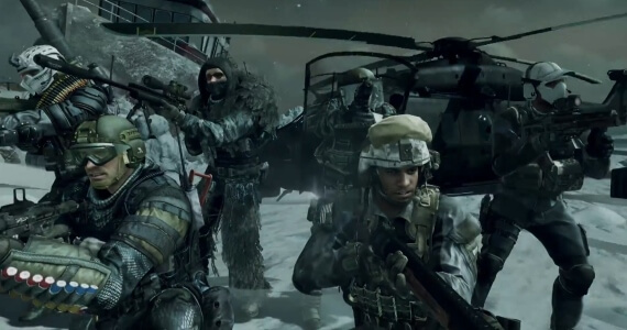 Call of Duty Ghosts Squads Mode