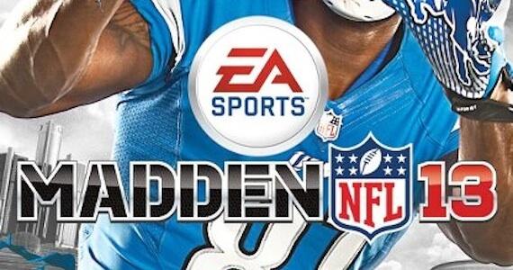Calvin Johnson Madden NFL 13 Cover Reveal