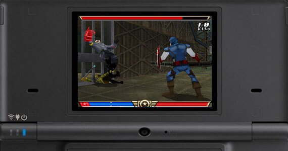Captain America Super Soldier on the Nintendo DS