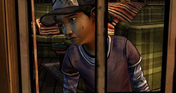 Clementine in 'The Walking Dead' season two 'A House Divided'